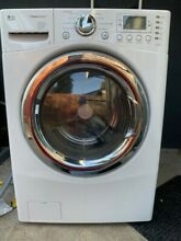 LG WM3988HWA 4 2 cubic foot White Steam Washer  Dryer Combo