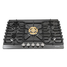 Metawell 30  5 Burners Built In Stove Top Gas Cooktop NG LPG Kitchen Gas Cooking