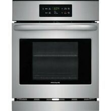 Frigidaire Self Cleaning Single Electric Wall Oven  Stainless Steel  EFEW2426US