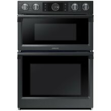 Samsung NQ70M7770DG 30   Stainless Steel Electric Combo Wall Oven  BLK STAINLESS
