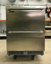 Perlick HC24RB35 24  Stainless Steel Undercounter 2 Drawer Refrigerator