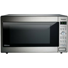 Panasonic 2 2 Cu  Ft  Microwave Oven with Inverter Technology NN SD945S