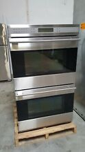 Wolf 30  SS E Series Double Wall Oven Model  D030 2US TH    4500