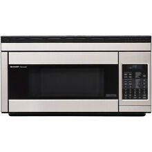 Sharp 1 1 Cu  Ft  850W Over the Range Convection Microwave   R1874T