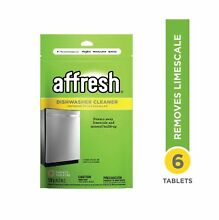 Affresh W10282479 Dishwasher Cleaner 1 Pack Yellow Stainless Steel Tub Safe Use