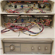 Kenmore Dryer Switch Control Panel Complete