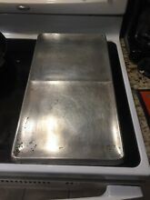 Vintage Chambers Stove In a top Broiler   Griddle Reliable 4738 C Model