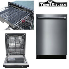 Thor kitchen 24  Stand Alone Built In Dishwasher in Stainless Steel HDW2401BS