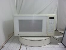 GE Profile JE1660WB 001 Countertop Microwave Oven White SEE NOTES