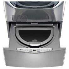 LG WD100CV 27  Graphite Steel Sidekick Washing Machine Pedestal