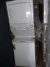 GE stackable washer and dryer 3 8 cu ft cycle washer and 5 9 cu ft cycle gas dry