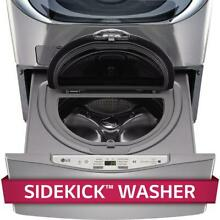 LG WD100CV    27  W x 14  H  Graphite Pedestal w  Built In 1 0 Cu Ft Washer