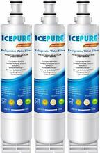 3 Pack Replacement Refrigerator Water Filter 4396508 for Whirlpool Kenmore