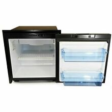 Norcold 2 7 Cubic Ft  Ac dc Marine Refrigerator Black NR751BB