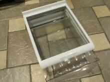 KENMORE REFRIGERATOR SHELF GLASS WITH PULL OUT DRAWER