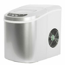 Portable Countertop Ice Maker Compact Ice Cube Machine Home Bar Dorm 26lbs day