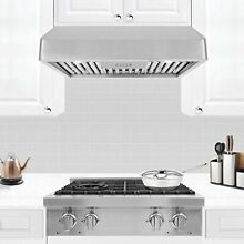 30  Range Hood 900 CFM Under Cabinet F488 Stainless Steel NEW FREE SHIPPING