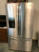 Whirlpool 25 cu  ft  French Door Refrigerator Stainless Steel