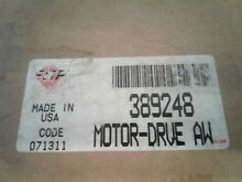 New Whirlpool Motor for Whirlpool and Kenmore Washers  Part   389248