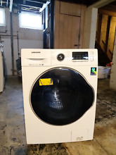Samsung WW22K6800AW 24  White Front Load Washer