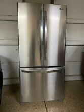 LG LFC25765ST 22 6 cu  ft  Bottom Freezer Refrigerator