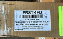 Viking Side Trim Kit for French Door Styles  Stainless Steel FRSTKFD New