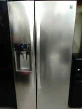 Kenmore Elite Side by Side Stainless Refrigerator with Dispenser