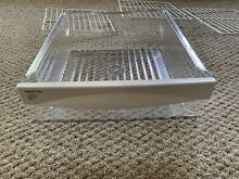 GE Side By Side Refrigerator GSS25KGSC Top Snack Pan Deli Drawer