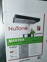 NuTone Mantra 30 in Convertible Under Cabinet Range Hood LED Light Black NEW BOX