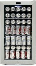 Whynter BR 128WS Lock  120 Can Capacity  Stainless Steel Beverage  120 Can