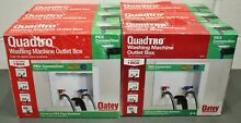 6  Oatey Quadtro Washing Machine Outlet Box 38528  Pex Connection  4  Options