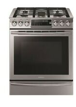 Samsung NX58K9500WS 30  Slide In Gas Stove Range True Convection Stainless