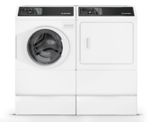 Speed Queen 7 Series Front Load Washer   Dryer in White