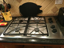 Dacor Natural Gas Cooktop drop in sealed