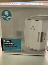 Cooluli CMF4L Red Thermoelectric Cooler and Warmer Portable Mini Fridge