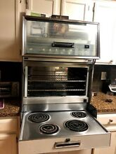 Vintage 1965 Frigidaire Flair Custom Imperial Electric Range Oven with Manual