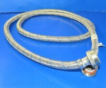 Whirlpool Washer   72 inch Braided Stainless Cold Water Line   Hose  P2668