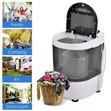 8lbs Mini Portable Compact Washing Machine Spin Dry Laundry Washer with Dryer