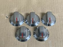 5 Replacement Knobs for Frigidaire FGEC3068US 30  Electric Cooktop
