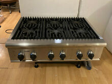 Thermador Professional Stainless Rangetop   Cooktop 36  Model PCS366US