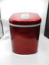 Euhomy Ice Maker Countertop  26lbs 24H Portable Compact ice maker machine  Red