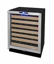 Vinotemp VT 50SBW10 50 Bottle Wine Cooler  Refurbished by the Factory