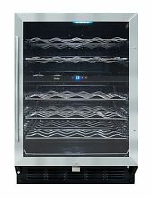 Vinotemp VT 58SB ID 58 Bottle Wine Cooler   Refurbished at the Factory Will Call
