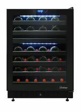 Vinotemp VT 46TS 2Z 46 Bottle Dual zone Wine Cooler  Refurbished by the Factory