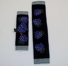 Grape Handle Covers   CASE LOT 60 UNITS   For Use On Fridge  Oven  Microwave