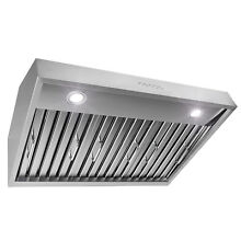 30  Stainless Steel Touch Panel Kitchen Cooking Fan Under Cabinet Range Hood