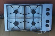 Dacor 36  Renaiss Stainless Steel Gas Metal Cooktop 4 Range Burner Model SGM364S
