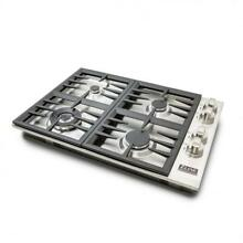 ZLINE 30  Dropin Cooktop with 4 Gas Burners STAINLESS STEEL KITCHEN  RC30