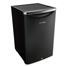 Danby 4 4 Cubic Feet Compact Sized Mini Beverage Refrigerator with Lock  Black