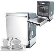 Kitchen 24  Stainless Steel Fully Integrated Style Built In Dishwasher Hot Q0U9